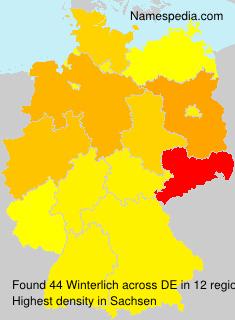 Familiennamen Winterlich - Germany