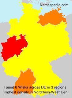 Surname Wiska in Germany
