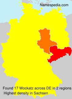 Surname Wockatz in Germany
