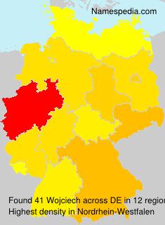 Surname Wojciech in Germany