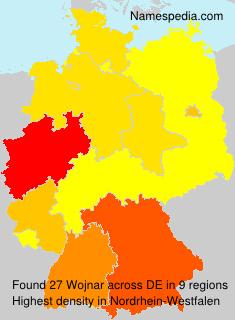 Surname Wojnar in Germany