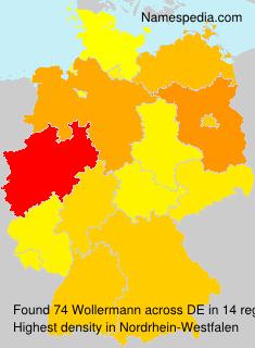 Surname Wollermann in Germany