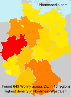 Surname Wollny in Germany