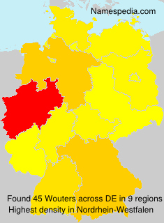 Surname Wouters in Germany