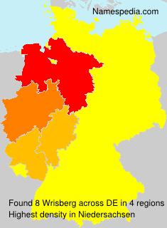Surname Wrisberg in Germany