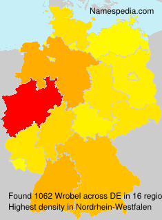 Surname Wrobel in Germany