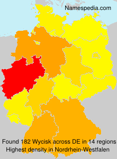Surname Wycisk in Germany