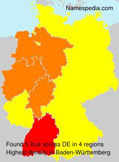 Familiennamen Xue - Germany