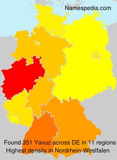 Surname Yavuz in Germany