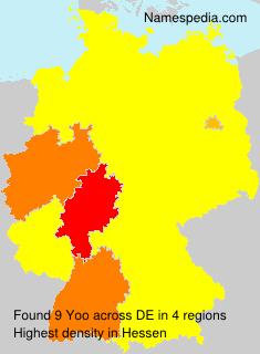 Surname Yoo in Germany
