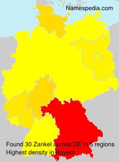 Familiennamen Zankel - Germany