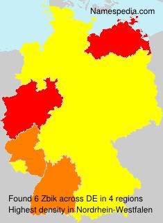 Surname Zbik in Germany