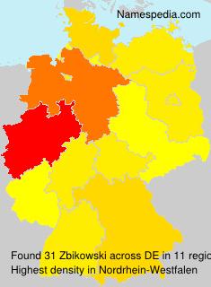 Familiennamen Zbikowski - Germany
