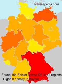 Surname Zeisler in Germany