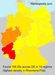 Surname Zils in Germany