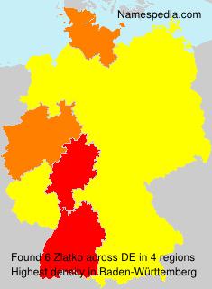 Familiennamen Zlatko - Germany