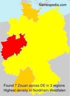 Surname Zouari in Germany