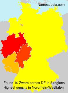 Surname Zwara in Germany