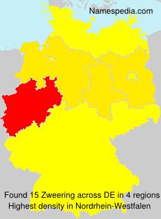 Surname Zweering in Germany