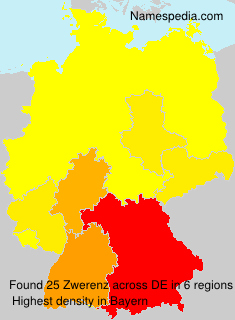 Surname Zwerenz in Germany