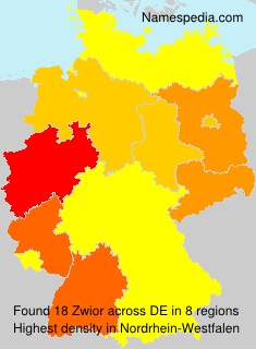 Surname Zwior in Germany