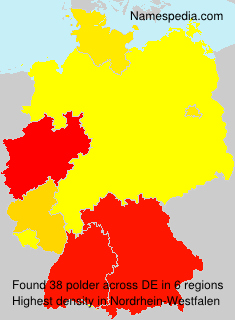 Surname polder in Germany