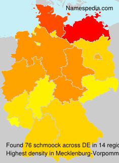 Surname schmoock in Germany