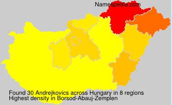 Andrejkovics