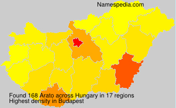 Surname Arato in Hungary