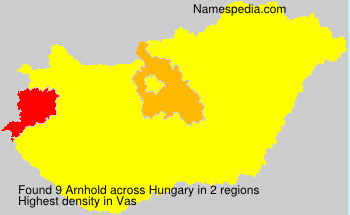 Surname Arnhold in Hungary