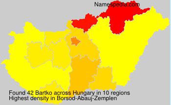 Bartko - Hungary
