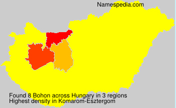 Surname Bohon in Hungary