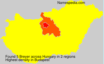Surname Breyer in Hungary