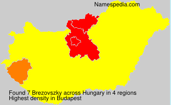 Surname Brezovszky in Hungary