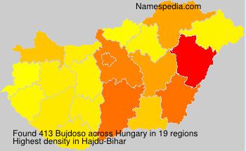 Surname Bujdoso in Hungary