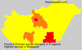 Surname Eichner in Hungary