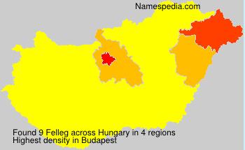 Felleg - Hungary