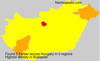 Surname Ferber in Hungary