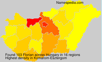 Surname Florian in Hungary