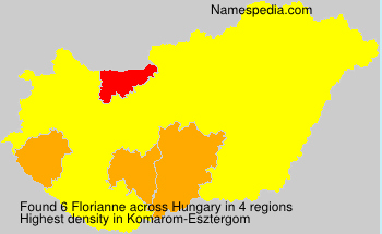 Surname Florianne in Hungary