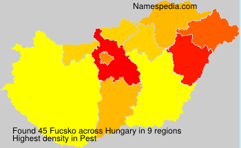 Surname Fucsko in Hungary