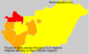 Surname Gats in Hungary