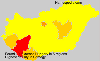 Surname Ifi in Hungary