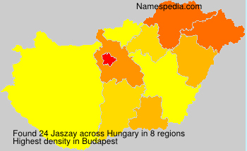 Surname Jaszay in Hungary