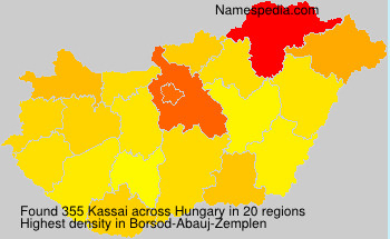Surname Kassai in Hungary