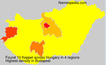 Surname Keppel in Hungary