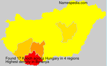 Surname Knoch in Hungary