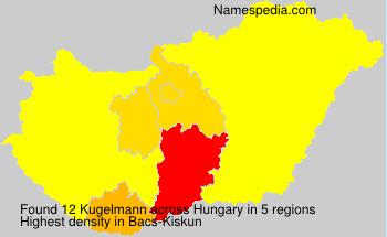 Familiennamen Kugelmann - Hungary