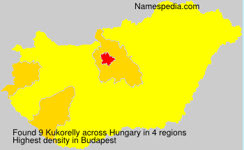 Surname Kukorelly in Hungary