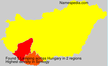 Surname Lamping in Hungary
